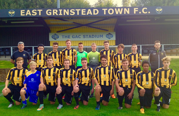 East Grinstead Town Under 18's Team
